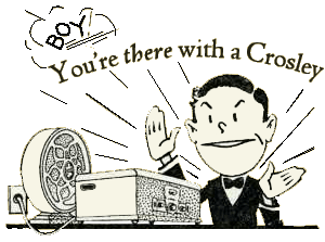 Crosley Radio cartoon